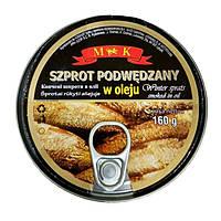 Шпроты Winter Sprats Польша 160г/96г