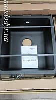 Гранитная мойка под столешницу AquaSanita Arca SQA 101 (601-черный металлик)