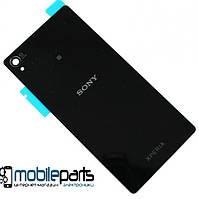 Задняя панель корпуса (крышка) для Sony D6603 | D6643 | D6653 Xperia Z3 (Черная)