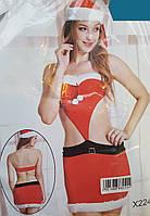 Новогодний эротический костюм