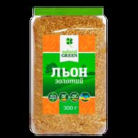 Семена льна золотого, 300 г, NATURAL GREEN
