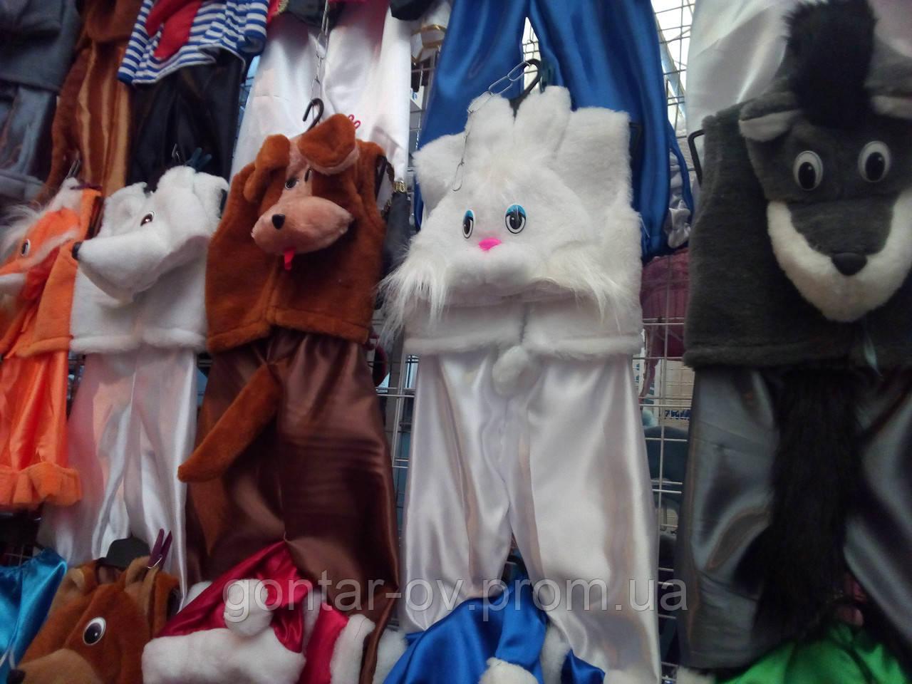 Карнавальный костюм белого Зайца