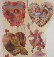 Фрагменты декупажной карты «Valentine's Day»_4, фото 1