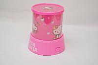 Проектор звездного неба Star Master Стар Мастер Kitty Pink