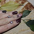 Сережки с камушками Росинка, фото 3