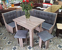 Кухонный уголок Маршал с раскладным столом и табуретами. Честная цена!