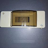 Пластиковый щиток навесной WK-1/2для 2 модульных автоматических выключателей без крышки