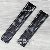 Ремешок к часам Breitling black.