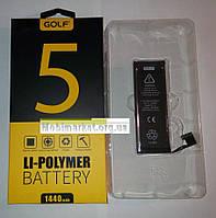 Акумулятор GolfLi-polymer дляiPhone 5