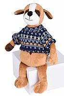 Мягкая игрушка Soft Toy Собачка 25 см, плюшевая собачка, сувениры к году собаки