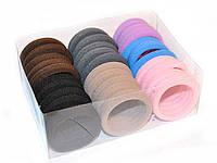 Резинки из микрофибры для волос упаковка 30 шт