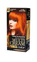 Joanna Multi Cream Color - Краска для волос - 43 огненно рыжий  35 мл