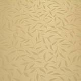 Рулонные шторы Шелк листочки бежевый, фото 2