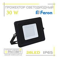 Светодиодный LED прожектор Feron LL-993 30W 28LED 6400K 1800Lm