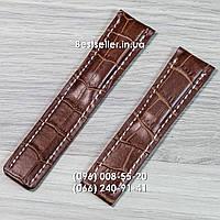 Ремешок к часам Breitling Brown., фото 1