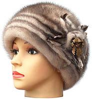Зимняя шапка женская,Молдаванка (колотый лед)