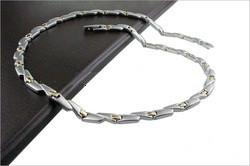 Магнитные ожерелье с позолотой Спиралька