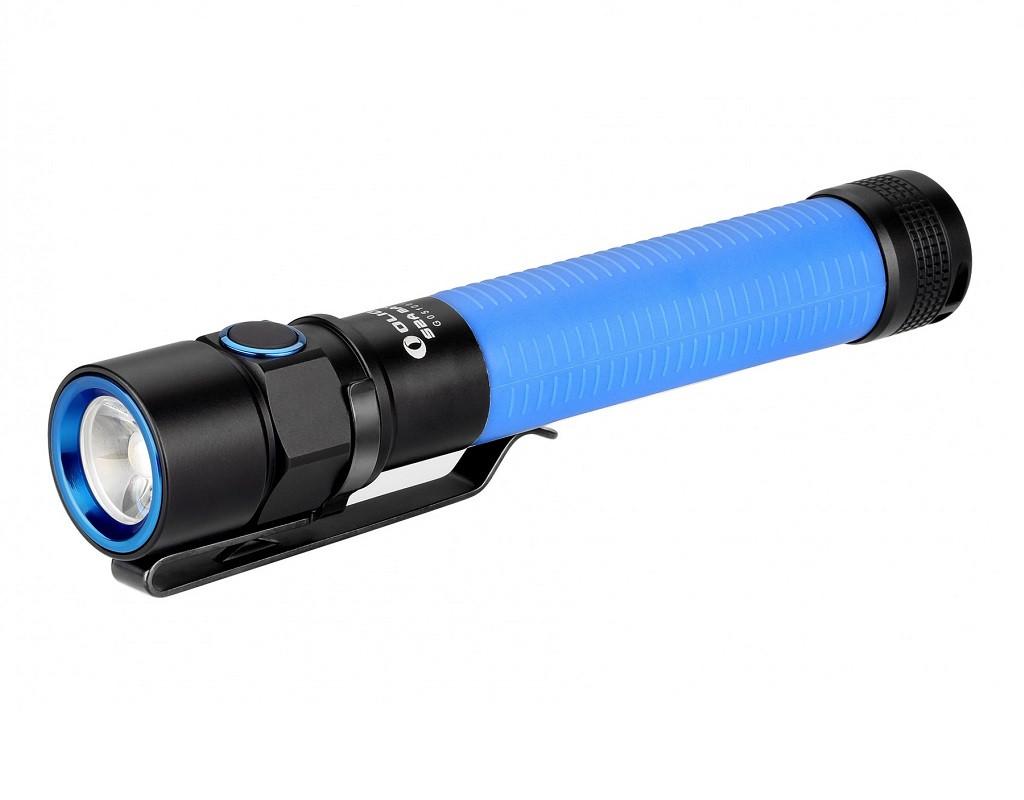 Ліхтар OLIGHT S2A BATON XM-L2 BLUE (блакитний) на акамуляторе,зарядки немає (S2A BATON - XM-L2 BL)