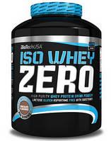 BioTech Iso Whey ZERO lactose free USA 2270g. Сывороточный изолят без лактозы.