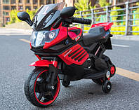 Детский мотоцикл на аккумуляторе BMW 703 RED электромотоцикл, красный, дитячий мотоцикл на акумуляторі