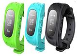 Детские умные часы с GPS трэкером Smart Baby Watch Q50 голубые, фото 2
