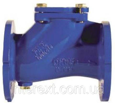 Клапан зворотний каналізаційний фланцевий Ду50, фото 2