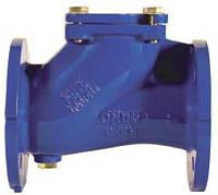 Клапан обратный канализационный фланцевый Ду50