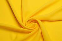 Ткань Шифон однотонный Желтый