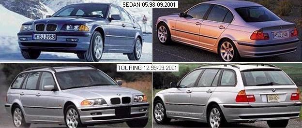 BMW 3 (E46) 98-01