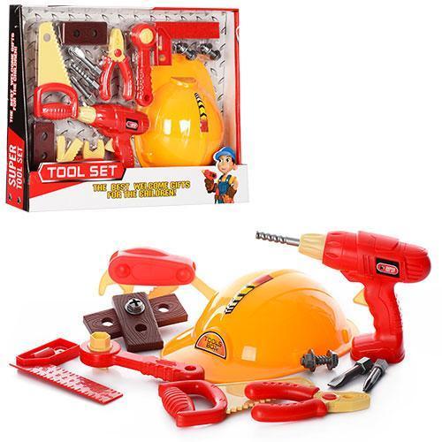 Игровой набор инструментов, в коробке 45-35-8см