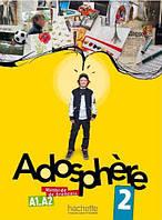 Adosphere 2 Livre de l'eleve + Audio CD. A1.A2