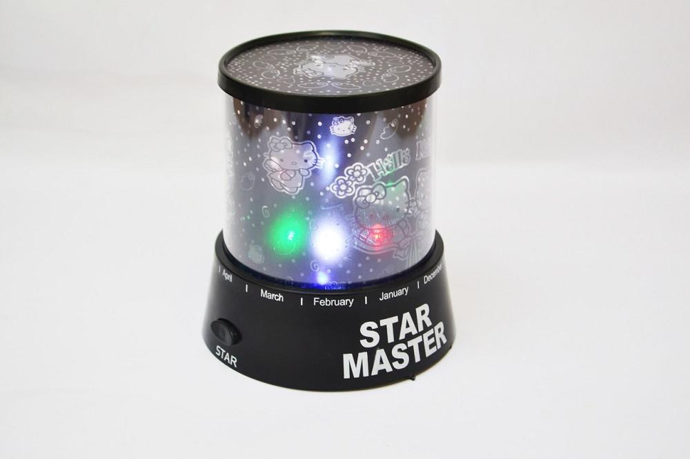 Проектор звездного неба Star Master Стар Мастер Kitty Black