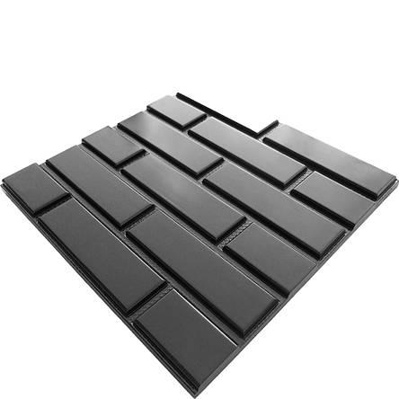 """Форма для изготовления 3D-панелей """"Кирпичная кладка"""", фото 2"""