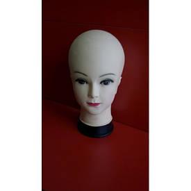 Голова женская (азиатка)