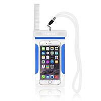 Водонепроницаемый чехол для мобильного телефона ROMIX RH12BL синий