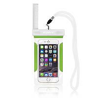 Водонепроницаемый чехол для мобильного телефона ROMIX RH12GN зеленый