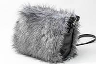 Женская меховая сумка :  эко кожа,  мех,  подкладка