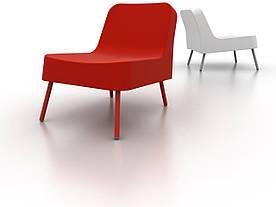 Кресло-БОБ красный