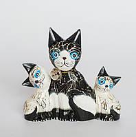 """Статуэтка """"Кошка и котята"""", 15 см"""