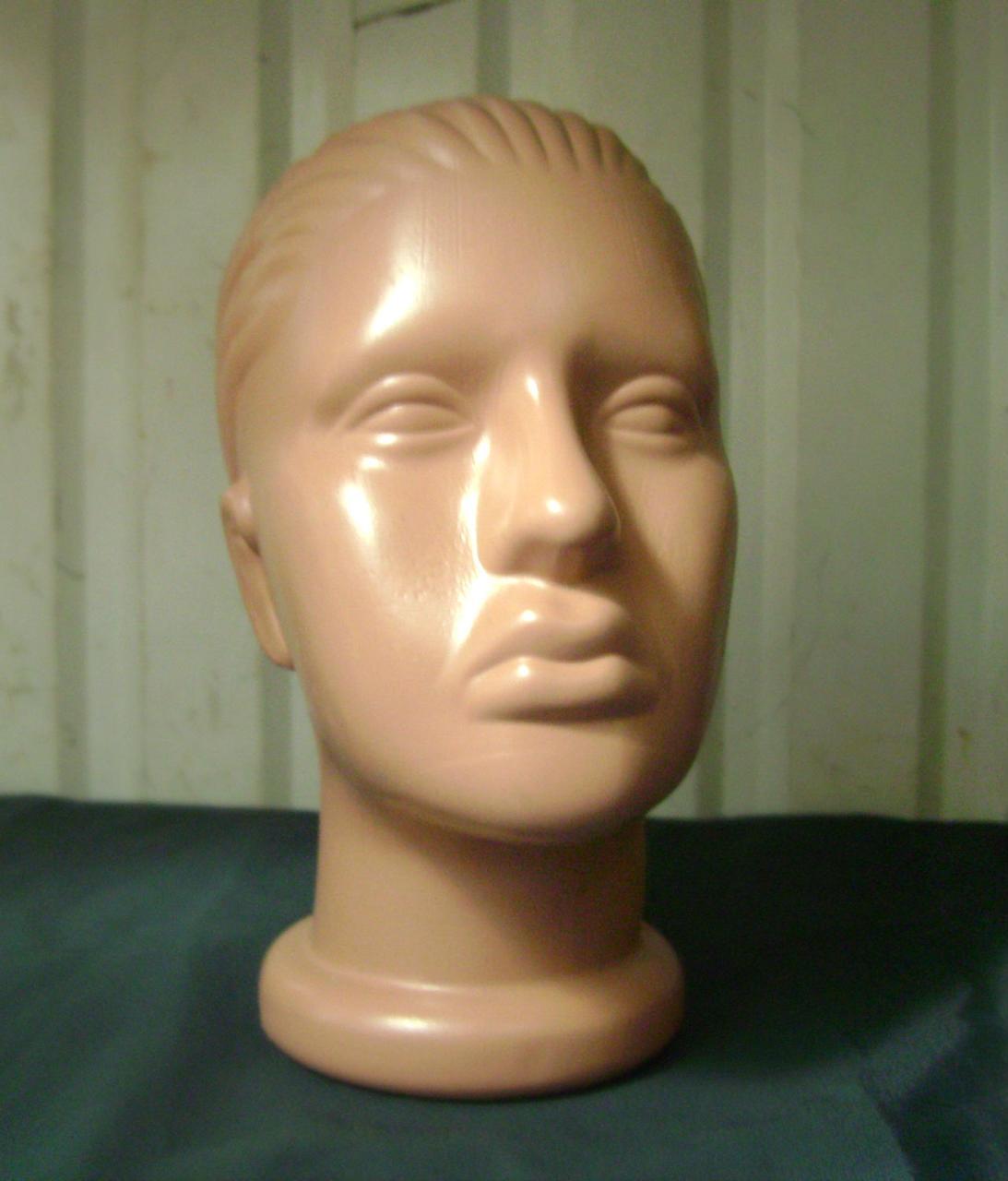 Манекен голова женская пластиковая