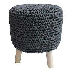 Кресло Муму серая темная