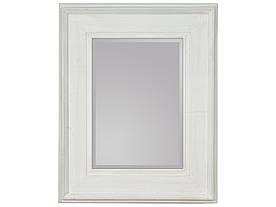 Зеркало висящее Каналетто 80х100 белый