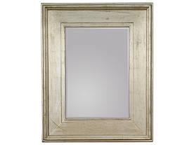 Зеркало висящее Каналетто 80х100 серебро