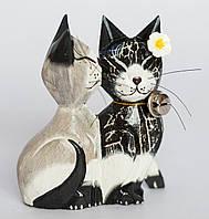 "Статуэтка ""Целующиеся котики"" 15 см"