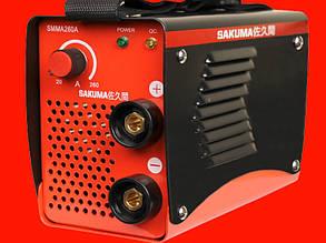 Сварочный инвертор на 260 Ампер Sakuma SMMA 260A