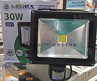 Прожектор светодиодный 30W с датчиком движения 6500K LEDEX