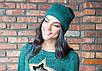 Молодежная женская шапка, фото 5