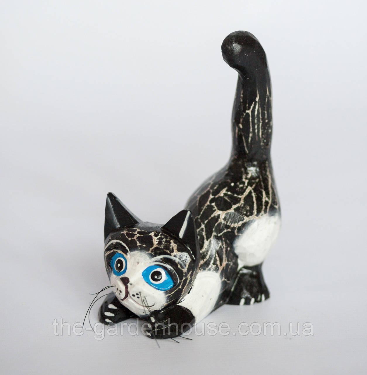 """Статуэтка """"Котик на охоте"""", 18 см"""