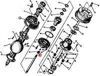 Кільце В30 БДС 2170-77 115862 Балканкар ДВ1792