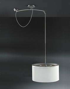 Лампа Finger Mov абажур белого цвета, диам. 45 см